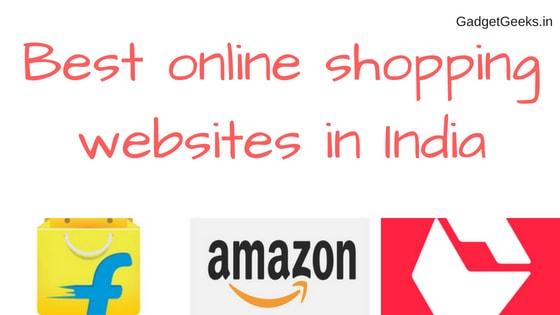Best online shopping websites in India