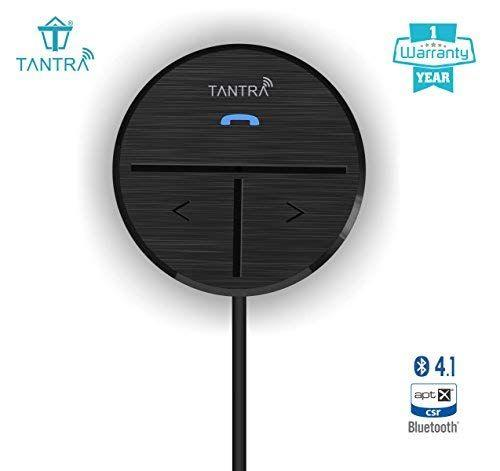 Tantra Fluke Pro Bluetooth Receiver - Best Bluetooth Kit for Car