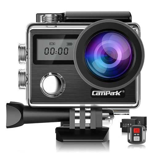 Waterproof Action Camera for Travel vlogging, tech gadgets for men