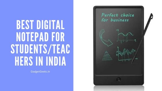 5 Best Digital Notepad for Taking Handwritten Notes in India 2021 1