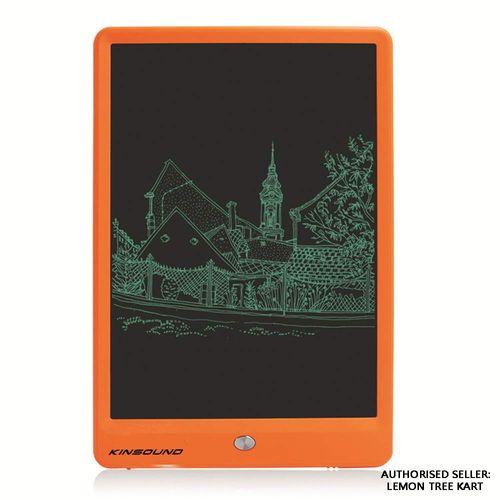 Kinsound Portable Ruff Pad E-Writer - Writing Pad - Drawing Pad 10 inch LCD Paperless Memo Digital Tablet Notepad