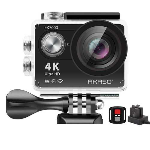 AKASO EK7000 4K WiFi Action Camera with Helmet Accessories Kit