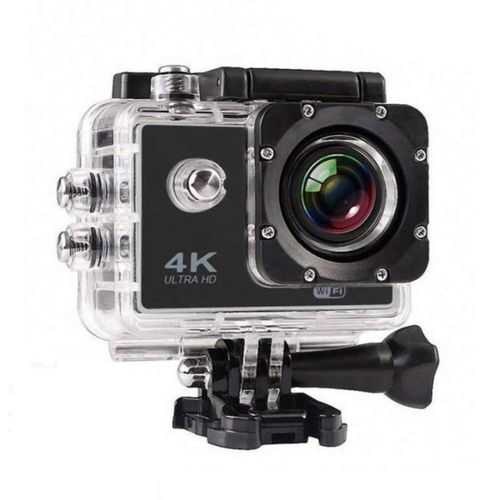 MOBILZA 4K Ultra HD Water Resistant Sports Action Camera Ultra Wide-Angle Lens with 2 Inch Display and Full Accessories